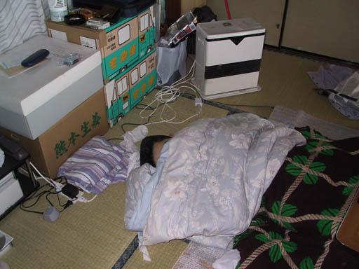 院生時代。ステータスは昏睡中。