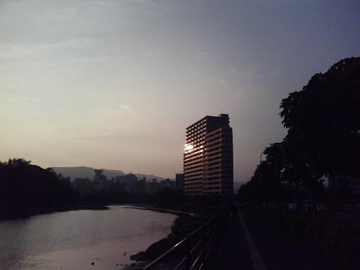 大須賀町付近