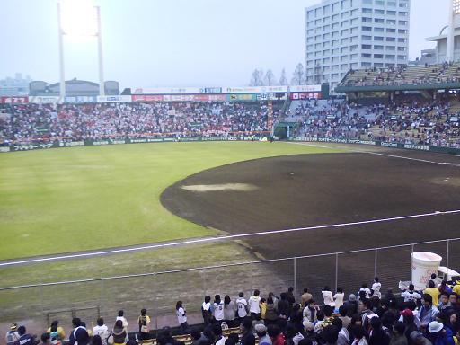 広島市民球場 ラストゲーム終了後