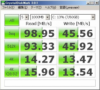 換装後(CFD CSSD-PMM64WJ2)