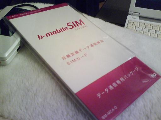 イオン専用b-mobileSIM