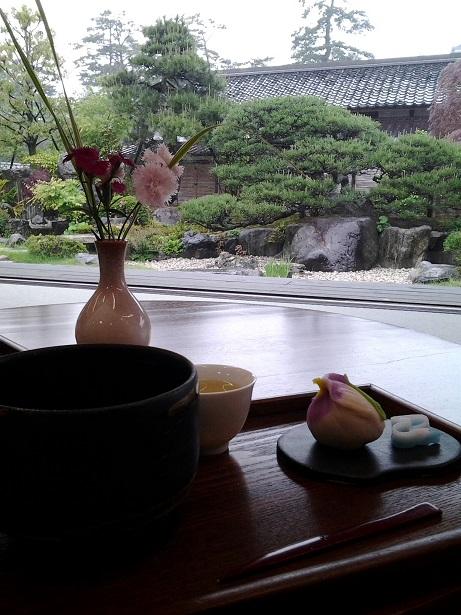 松江といえばお茶&和菓子ですよね