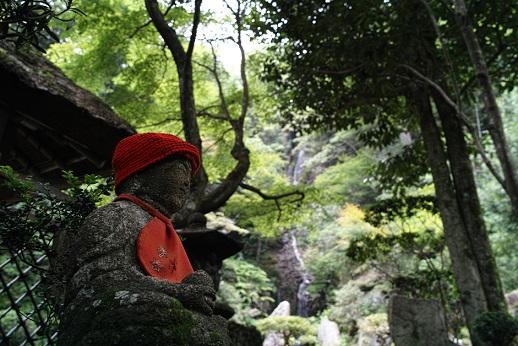 三滝寺 梵音の滝