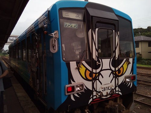 三江線ラッピング車両