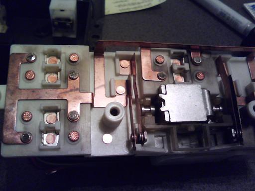 スス取り後の回路側