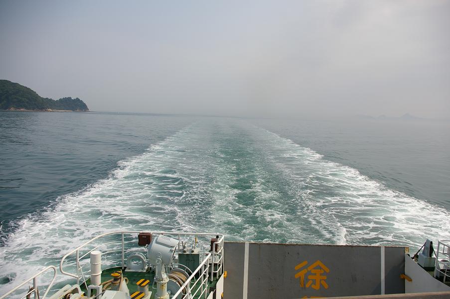 フェリーから広島方面