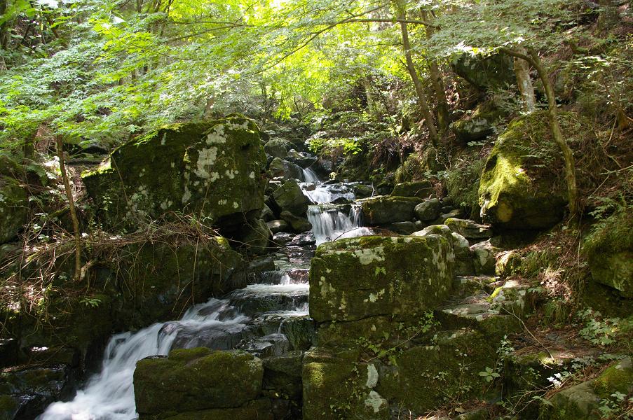 白糸の滝 入り口