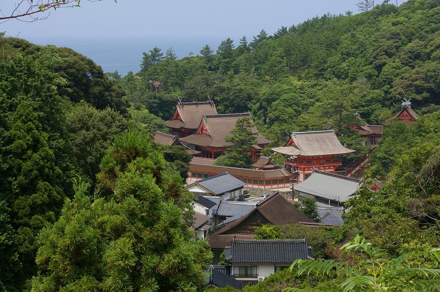 県道29号から日御碕神社
