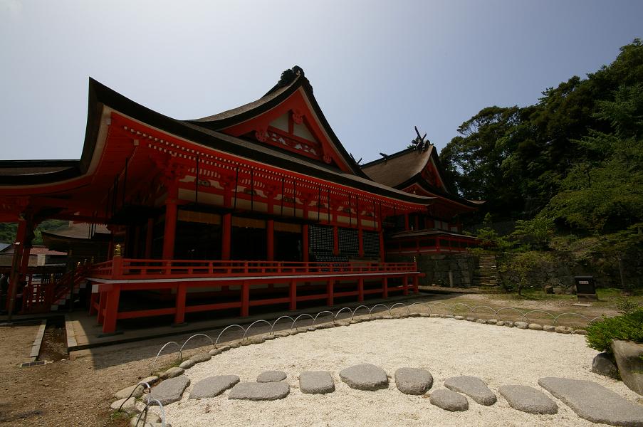 日御碕神社 下の本社