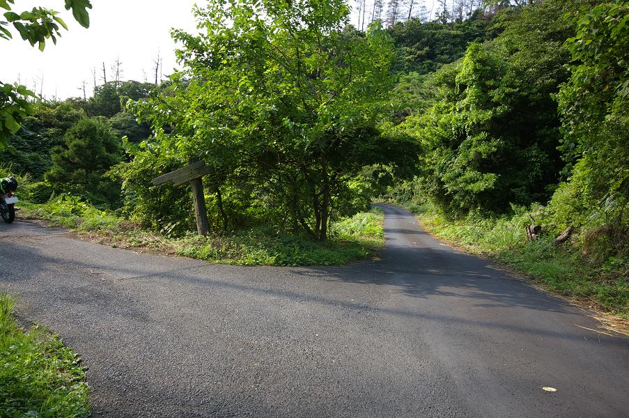 加賀潜戸への道