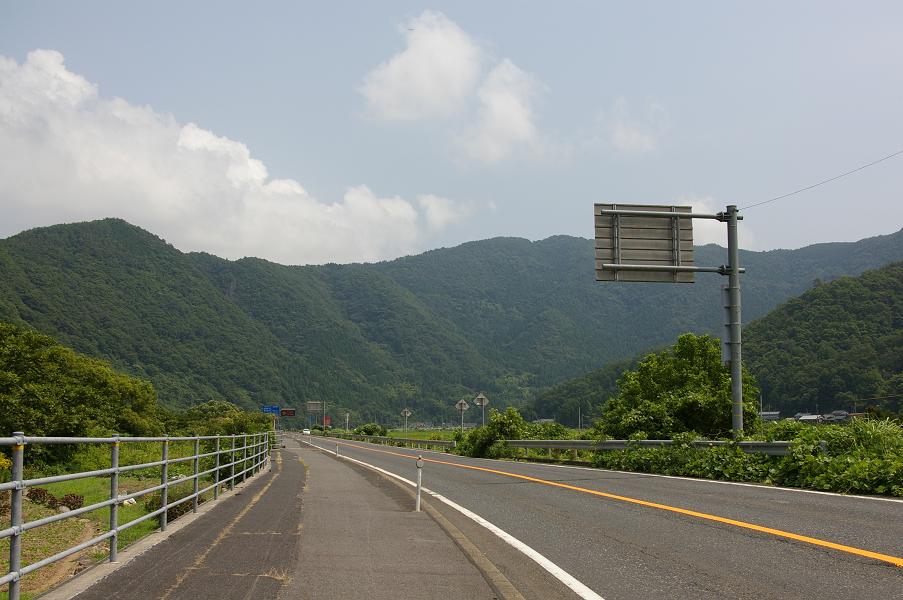 国道29号若桜付近