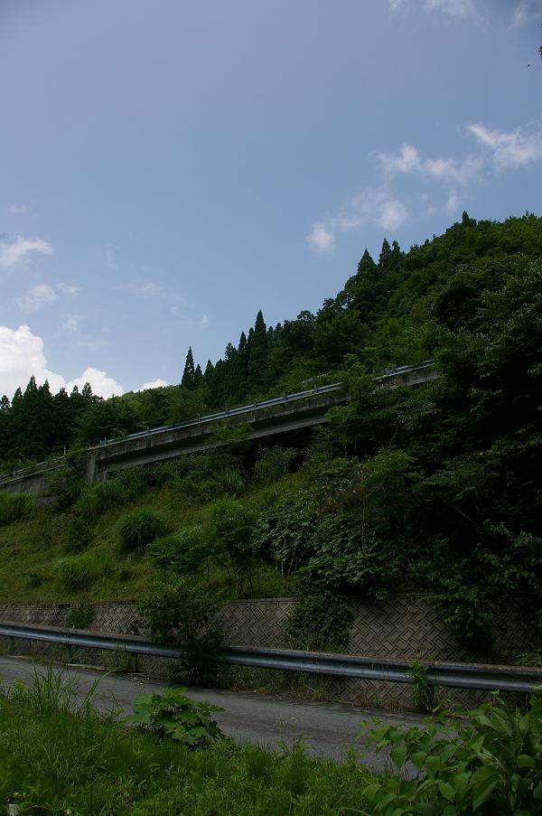 戸倉峠旧道