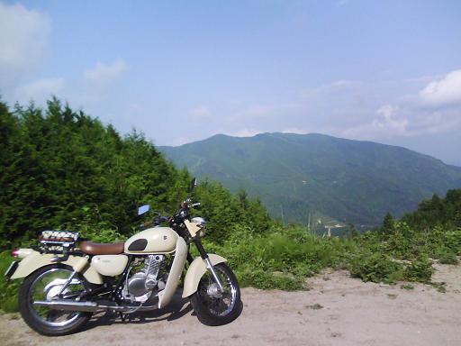 2009年05月 山口県道361号ドウギレ峠から水ノ尾山方面