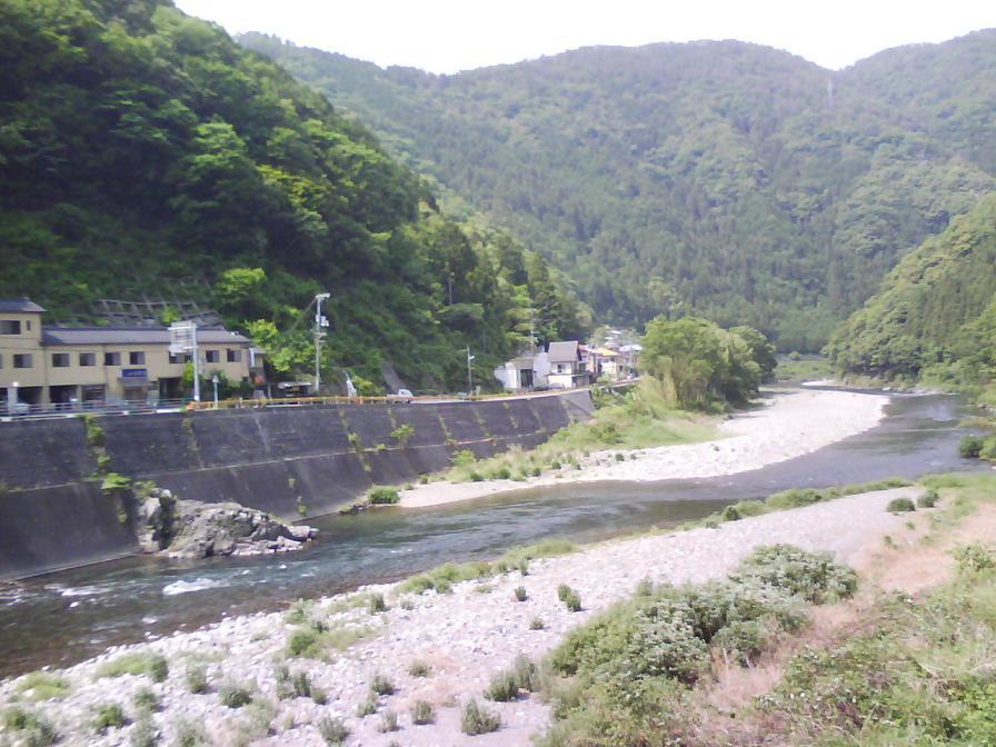 錦川 山口県道5号から国道187号方面